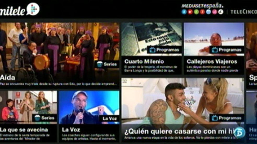 La aplicación de Mitele.es, premiada por su diseño