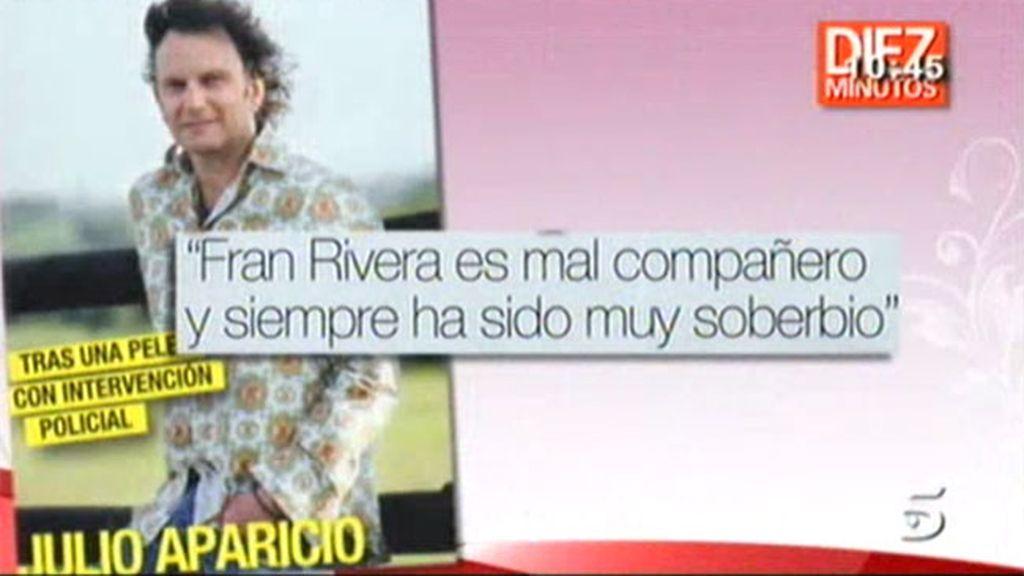 Julio Aparicio contra Fran Rivera