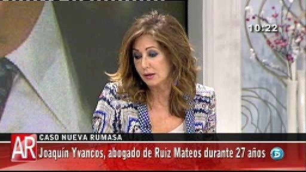 """Yvancos, ex abogado de Ruiz Mateos: """"Los hijos de Ruiz Mateos han llevado a la ruina de las compañías"""""""