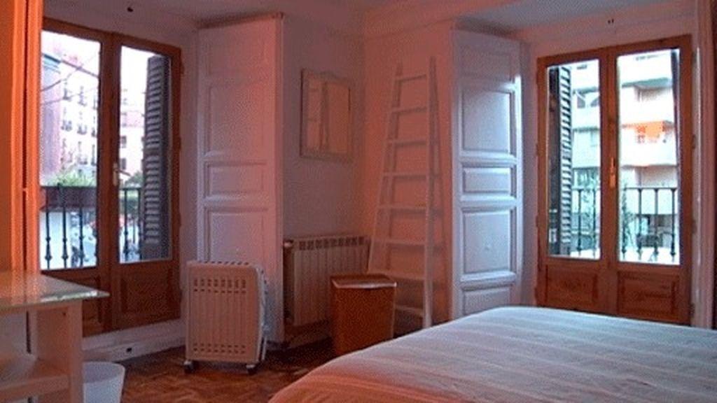 Cinco habitaciones en el centro de Madrid
