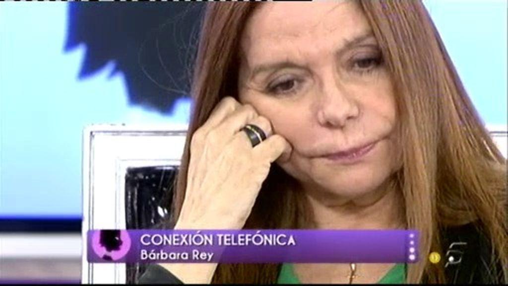 Bárbara Rey muestra su apoyo a Terebere