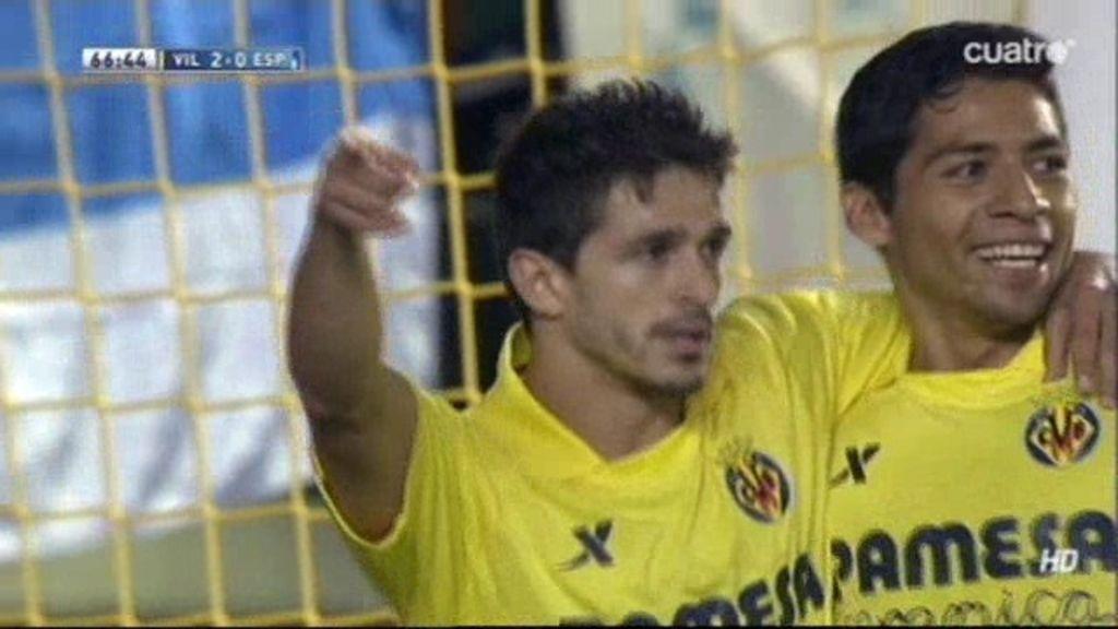 Gol de Pereira (Villarreal 2-0 Espanyol)