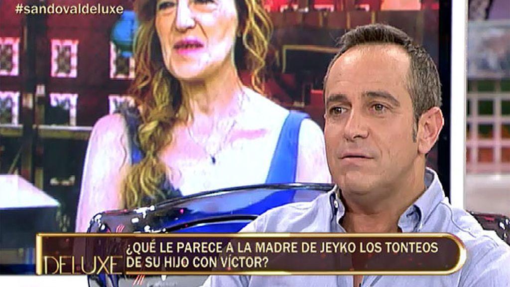 """Víctor, sobre Jeyko: """"No pasó nada"""""""
