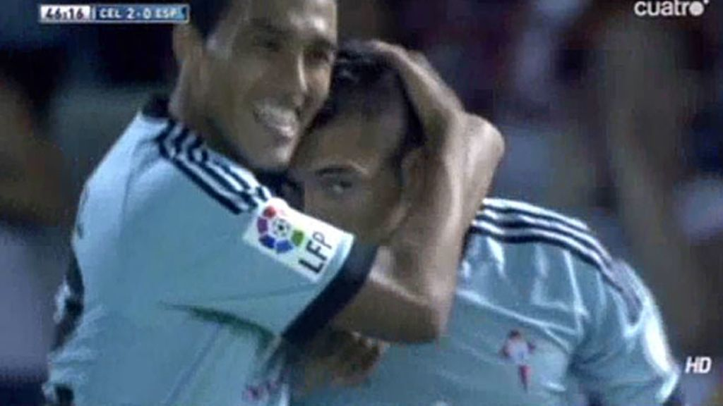 Gol de Charles (Celta 2 – 0 Espanyol)