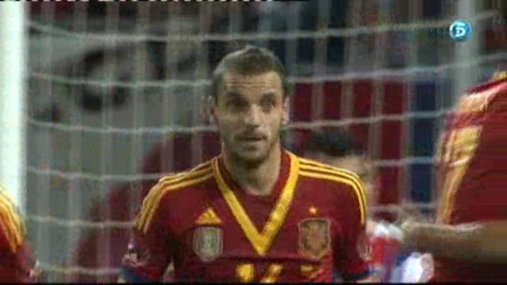 España 1 - 1 Chile: Gol de Soldado
