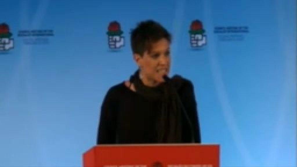 """Beatriz Talegón: """"¡Cómo pretendemos promover la revolución desde un hotel de cinco estrellas!"""""""