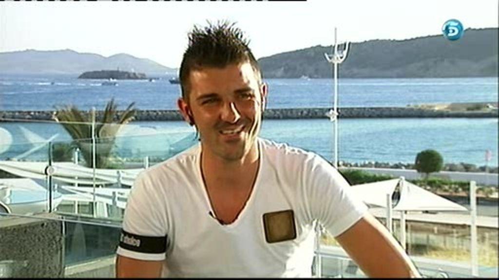 """David Villa: """"Nasri es muy bueno, pero los mejores visten de Rojo"""""""