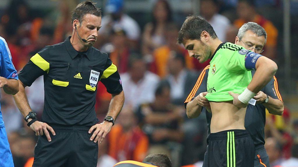 Así fue la lesión de Iker Casillas