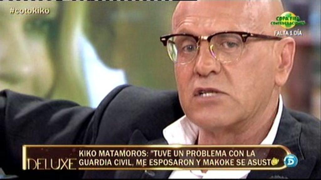 """Kiko M.: """"Nunca he maltratado a Makoke"""""""