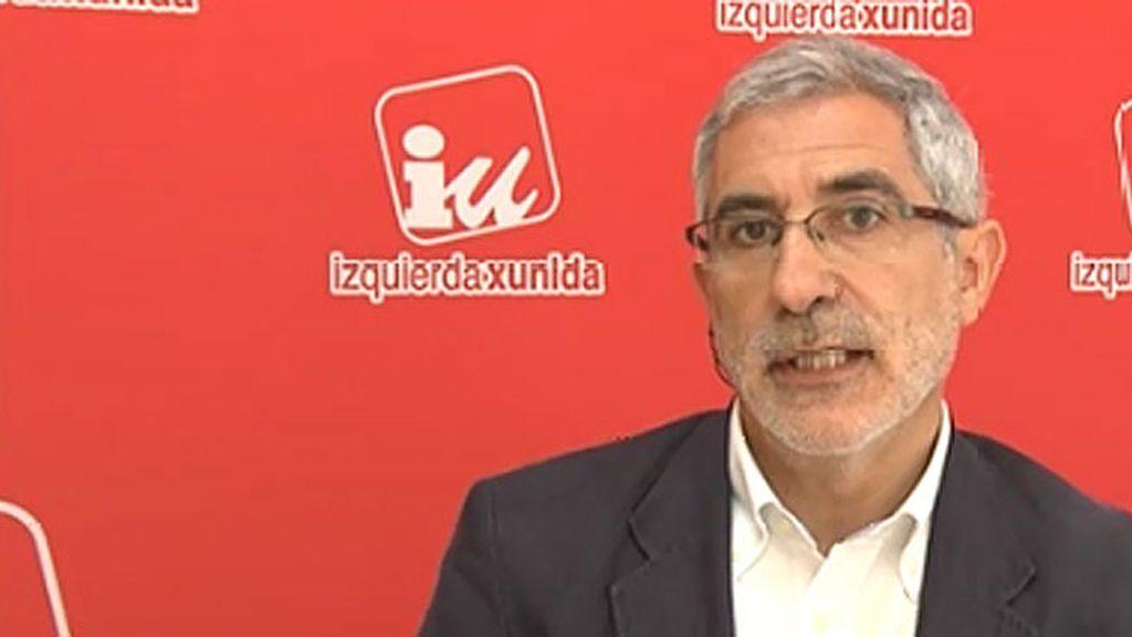 """Gaspar Llamazares: """"Creo que al PP le pasa algo muy grave, es incapaz de presentar un relato creíble"""""""