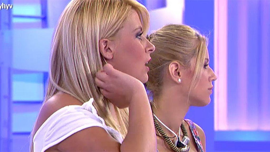 Cristina y Nancy acusan a Toni de estar viéndose fuera con Oriana