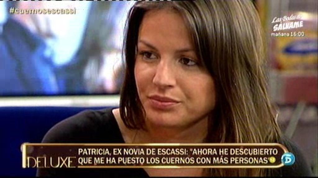 """Patricia, ex de Escassi: """"Estoy segura de que él y Sonia tuvieron relaciones"""""""