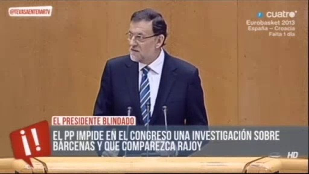 El PP rechaza la petición de los grupos de que Rajoy comparezca de nuevo