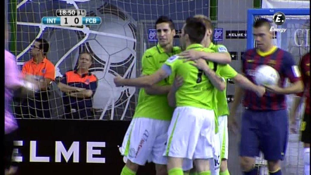 Gol de Rafa (Inter 1 - 0 Barcelona)