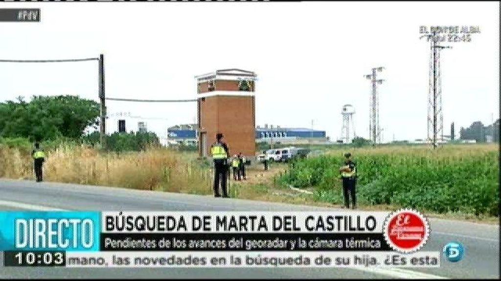 Primera jornada de búsqueda del cuerpo de Marta del Castillo
