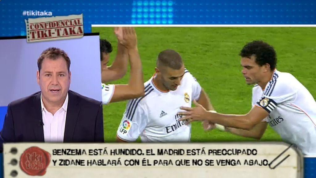 """Enrique Marqués: """"Hay discusión fuerte en la cúpula del Real Madrid sobre Benzemá"""""""