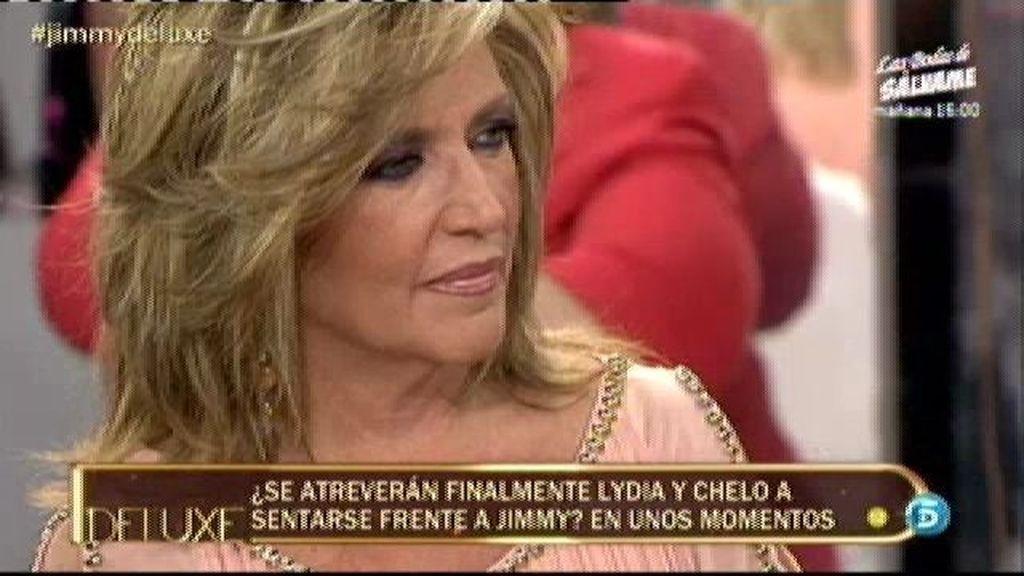 Chelo Gª Cortés y Lydia Lozano no comparten plató con Jimmy Giménez Arnau