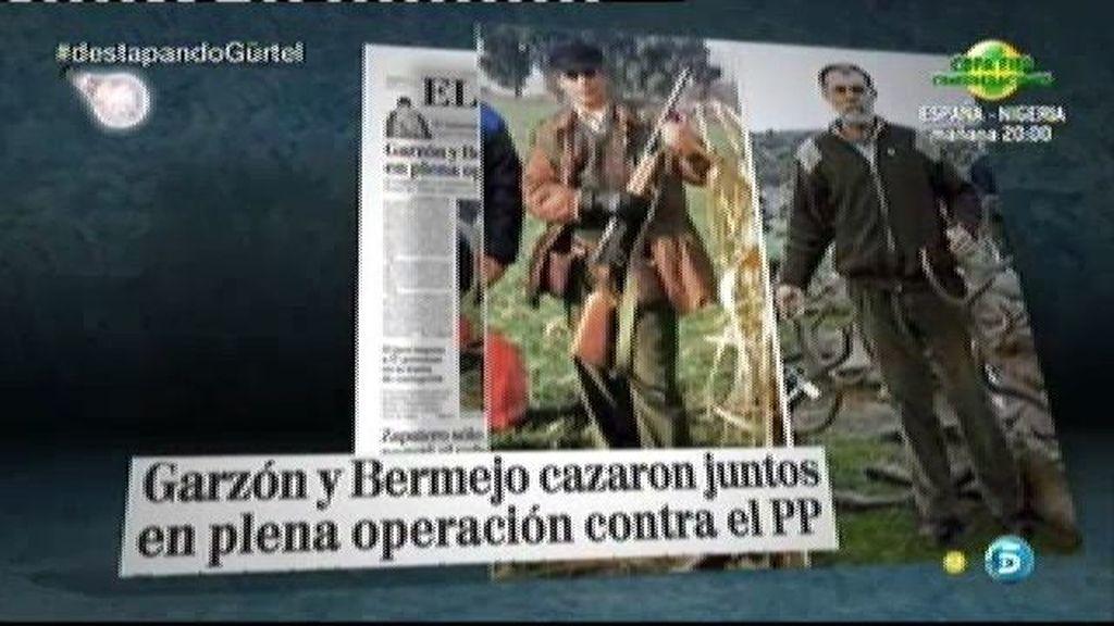 """""""Mientras nosotros estamos en los calabozos, Garzón y Bermejo lo celebraban cazando"""""""