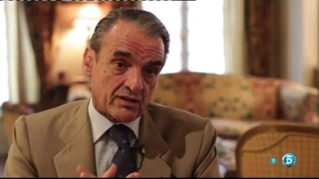 """Mario Conde: """"Algunos corrimos una serie de peligros por nuestra lealtad al Rey"""""""