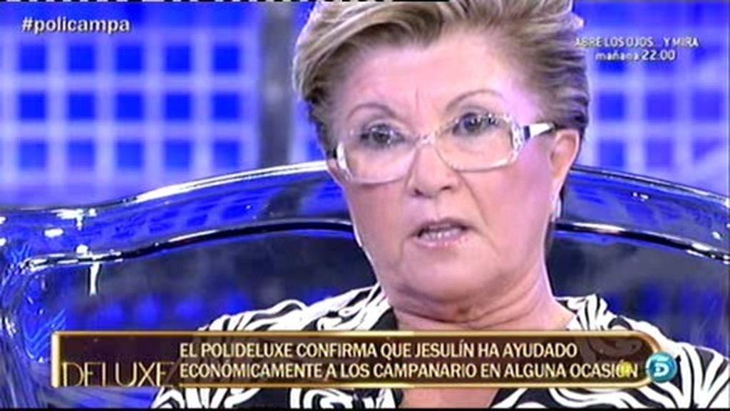 La madre de Campanario miente al decir que Mª José y Carmen Bazán se llevan bien