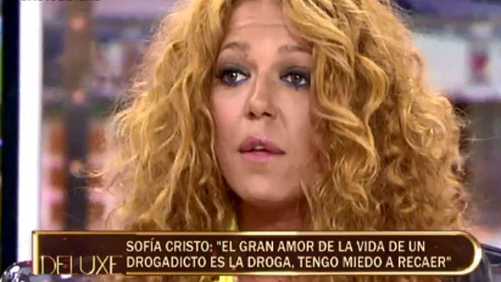 """Sofía Cristo: """"Cuando registraron mi casa, todavía tenía droga"""""""