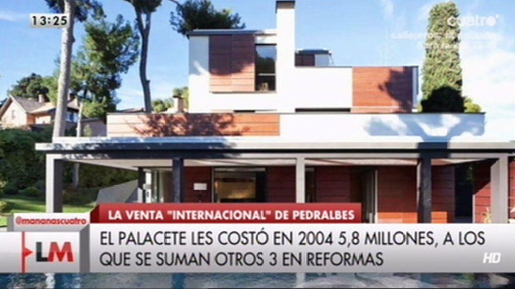 El palacete de Pedralbes, a la venta por 9.8 millones de euros