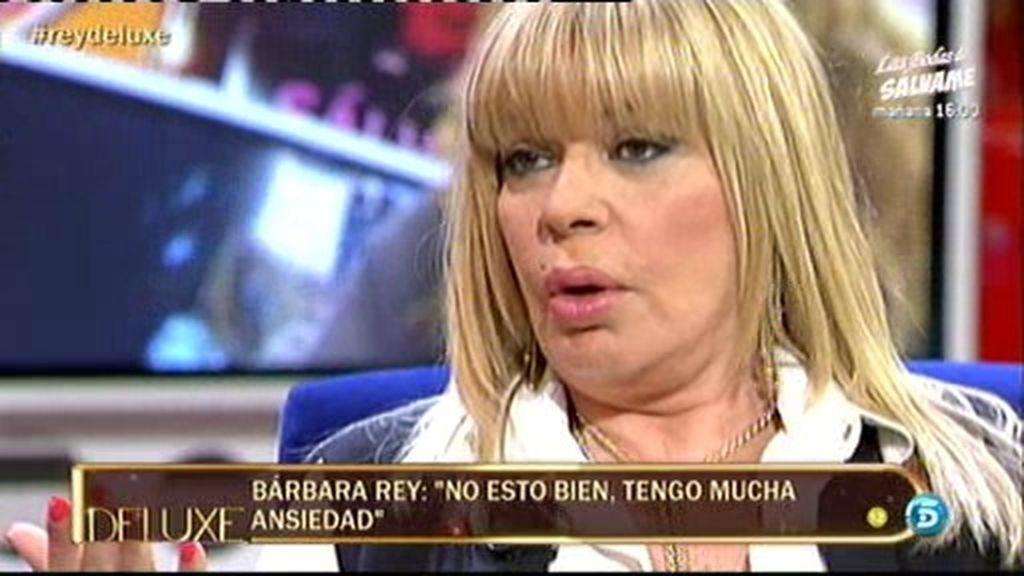 """Bárbara Rey: """"A veces sí me siento culpable del problema que tiene Sofía"""""""