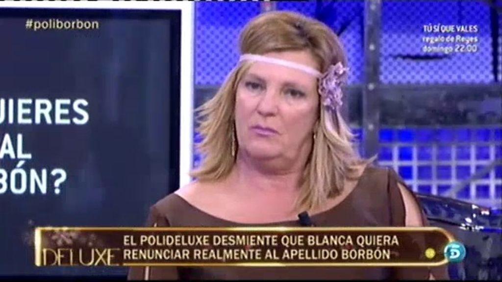 El 'polideluxe' desmiente que Blanca quiera renunciar al apellido Borbón