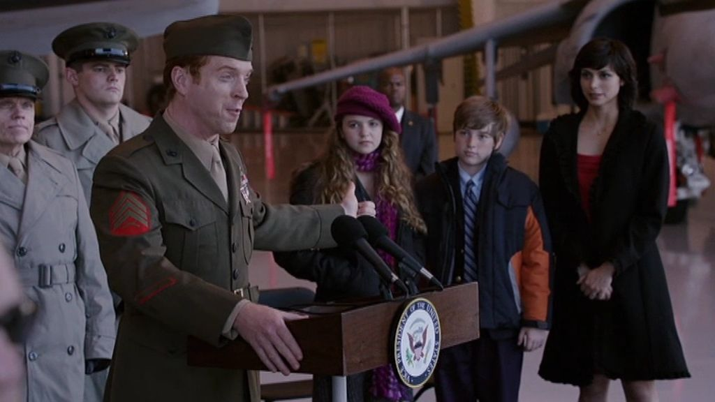 Brody regresa como un héroe de guerra