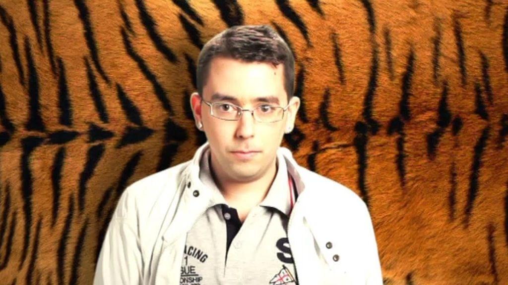 Borja Castiello, la mirada del tigre