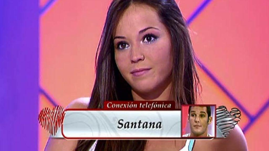 """Santana, sobre Yanira: """"Tenemos una buena relación pero no somos compatibles"""""""