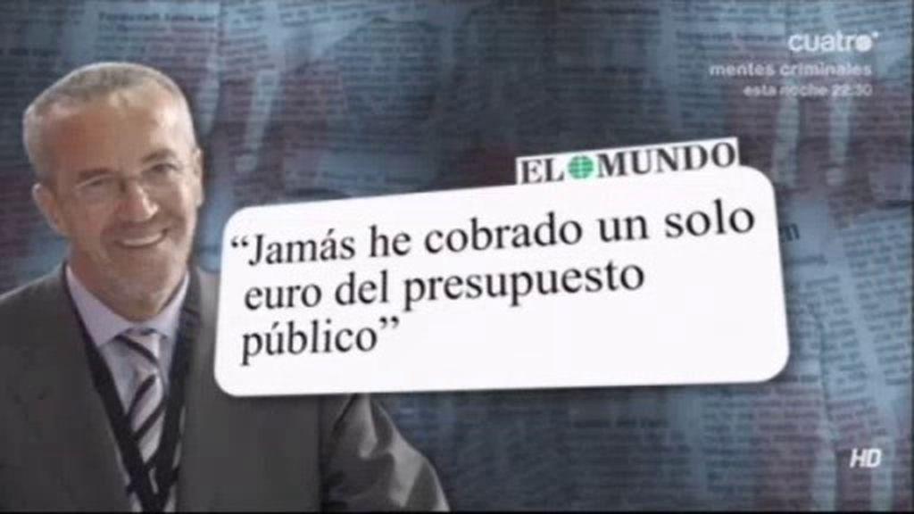 ¿Ha cobrado Pedro Arriola un millón de euros en dinero negro?