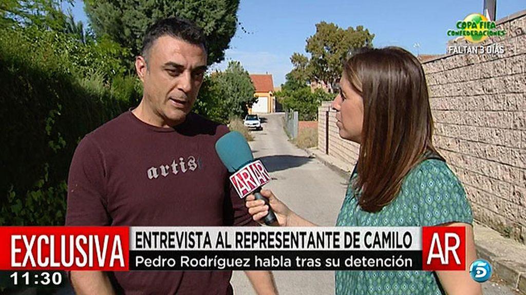 """Pedro Rodríguez, exrepresentante de Camilo Sesto: """"Me considero inocente y mis abogados lo dejarán claro"""""""