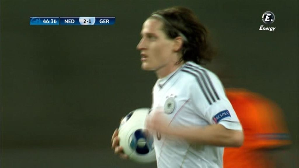 Gol: Holanda 2-1 Alemania (min. 46)