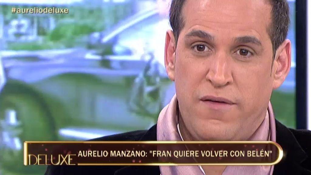 """Aurelio Manzano: """"Fran quiere volver Belén"""""""