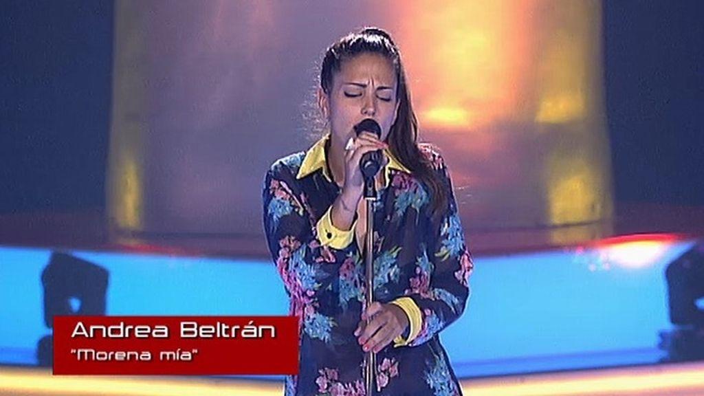 Andrea Beltrán: 'Morena mía'