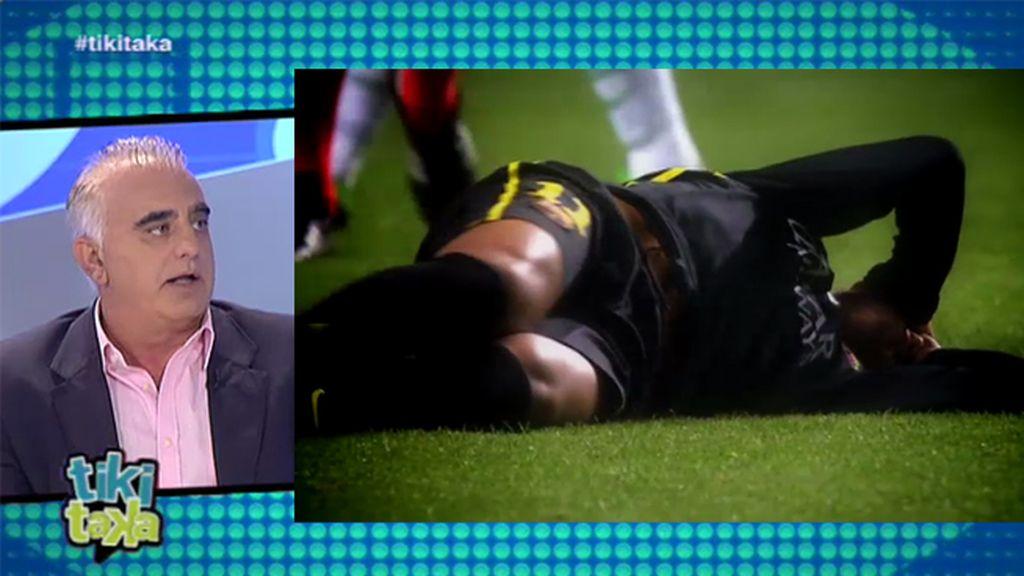 """Pedro Pablo San Martín: """"Neymar ha aprendido a fingir muy rápido de Alves"""""""
