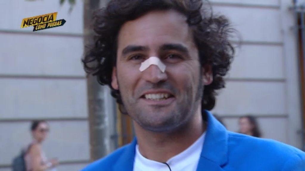 ¿Sabes por qué se pone una tirita Raúl?
