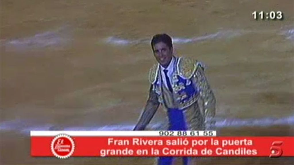 Fran Rivera triunfa en Candiles