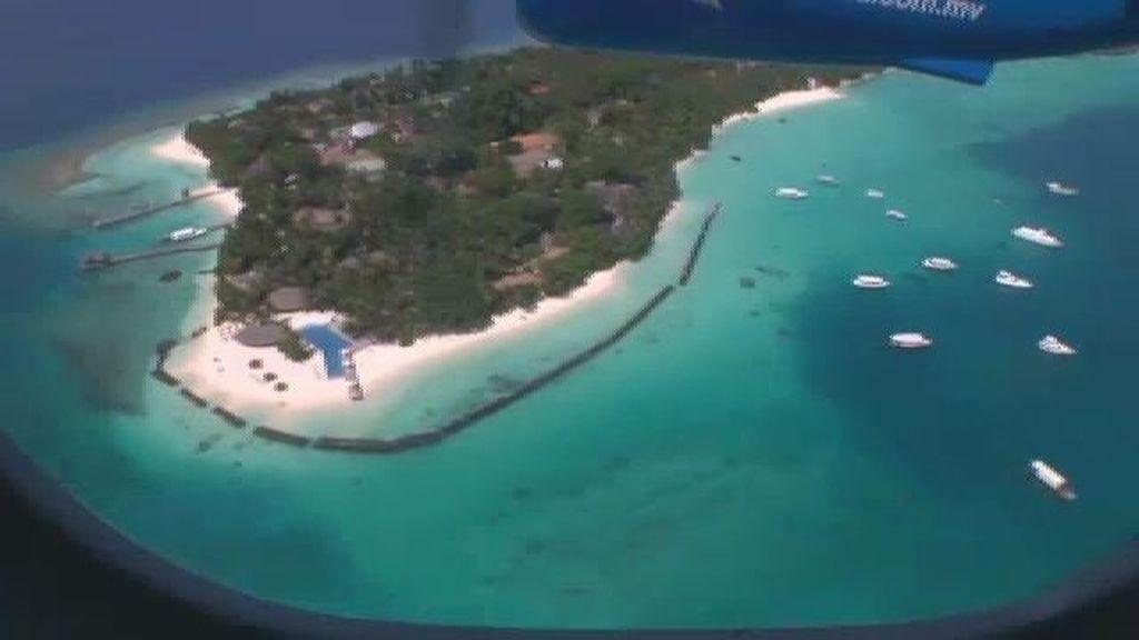 Maldivas, a vista de pájaro