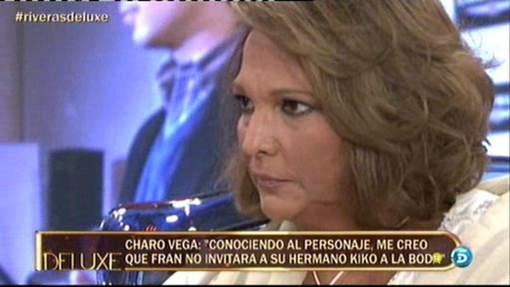 """Charo Vega: """"Francisco no se ha llevado bien ni con Kiko ni con Julián"""""""