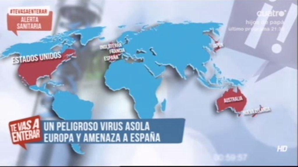 Un peligroso virus asola Europa y amenaza España