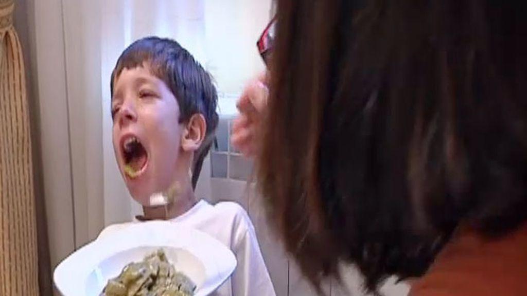 Daniel se niega a comer