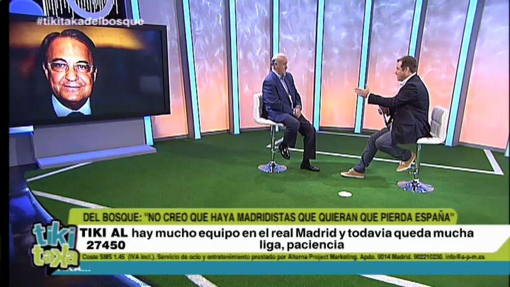 La entrevista íntegra de Del Bosque
