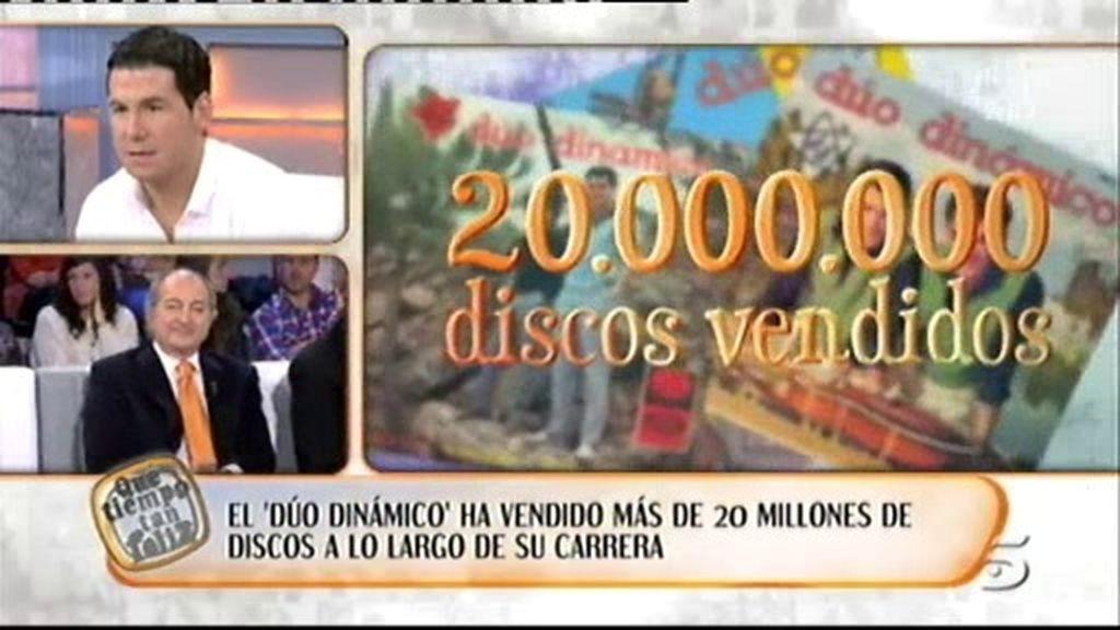 Los números del 'Dúo Dinámico'