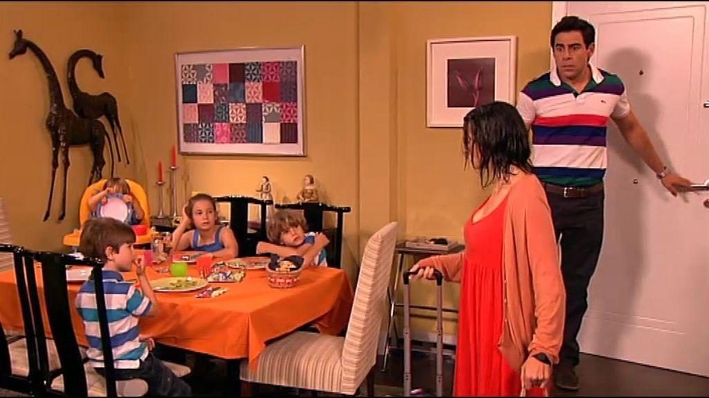 Violeta se va a vivir con Amador