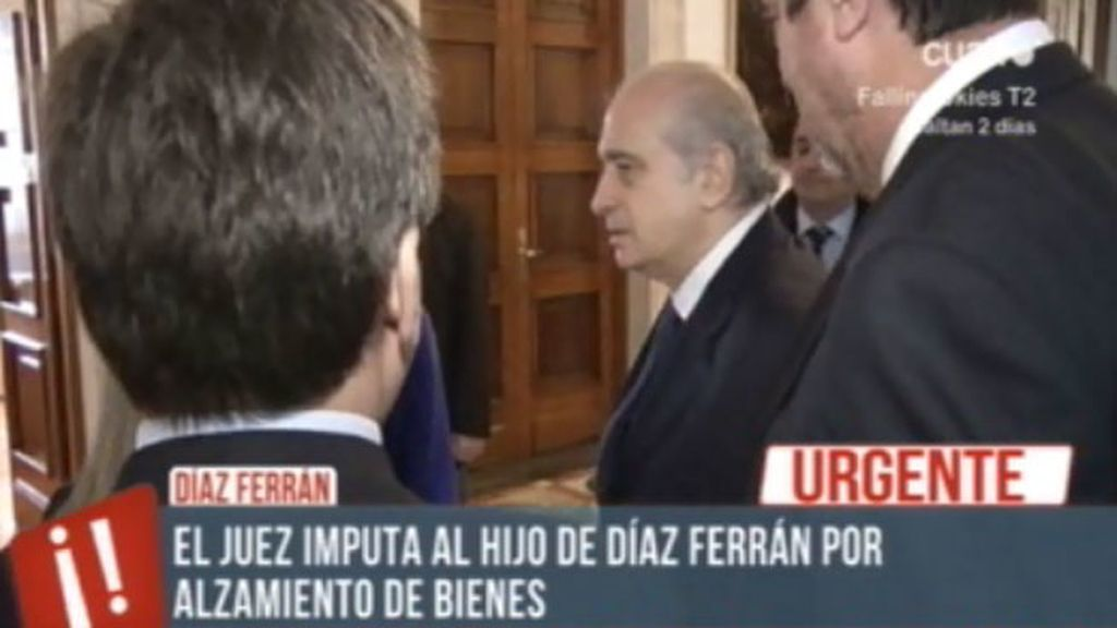 El juez imputa al hijo de Díaz Ferrán por alzamiento de bienes