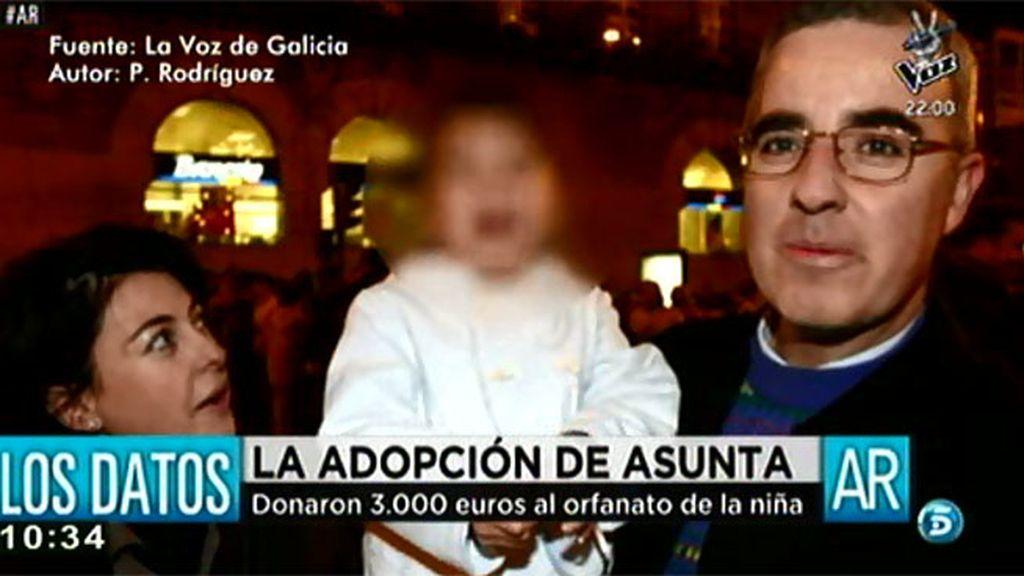 Así fue la adopción de Asunta