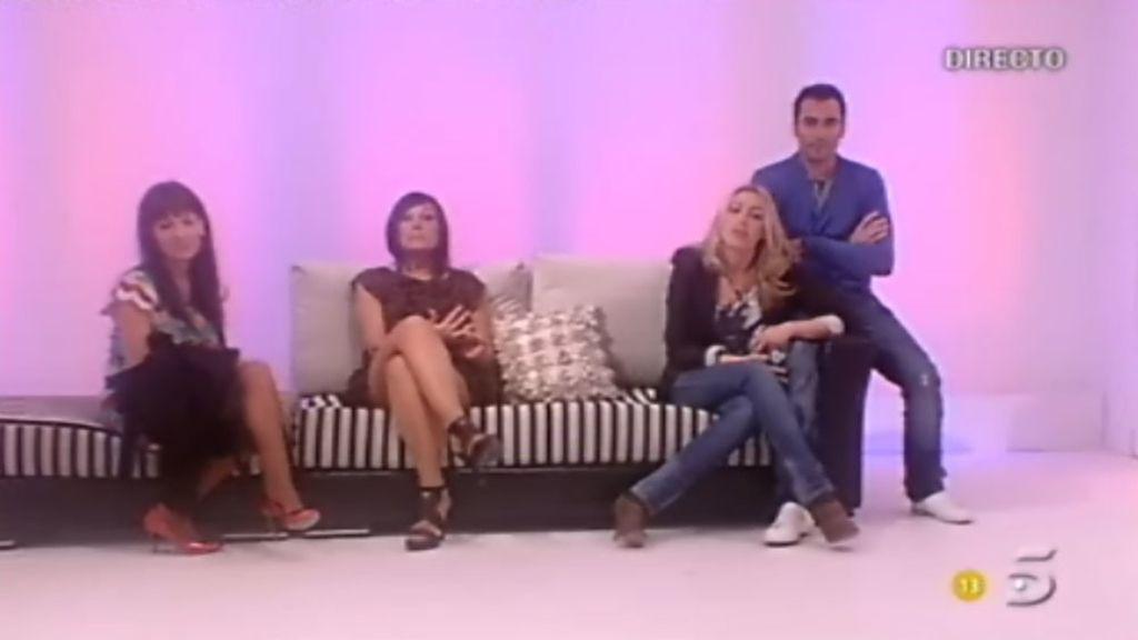 David, Natalia, Vanesa y Verónica