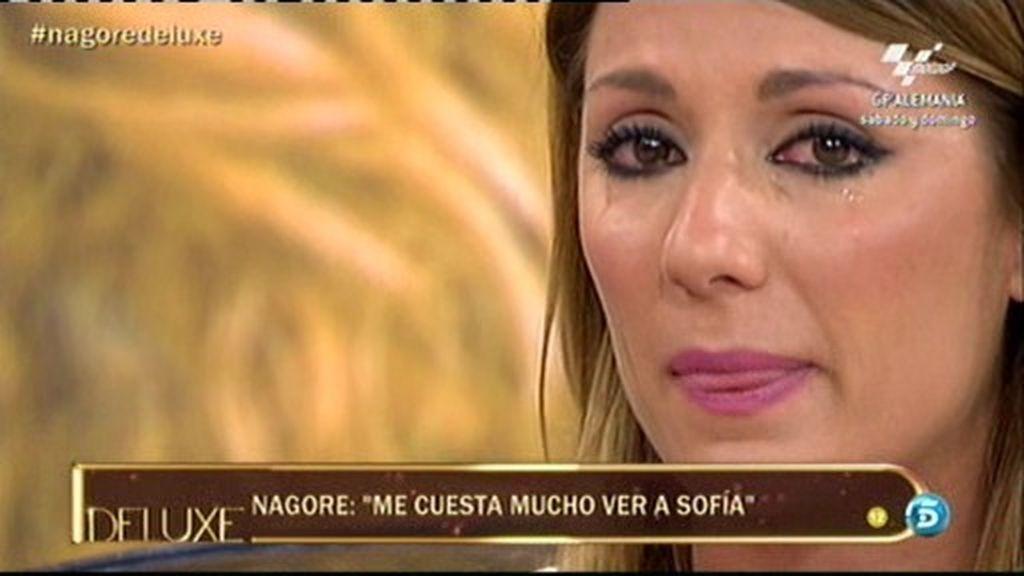 """Nagore: """"Me pasé llorando toda la entrevista de Sofía Cristo en El Deluxe"""""""